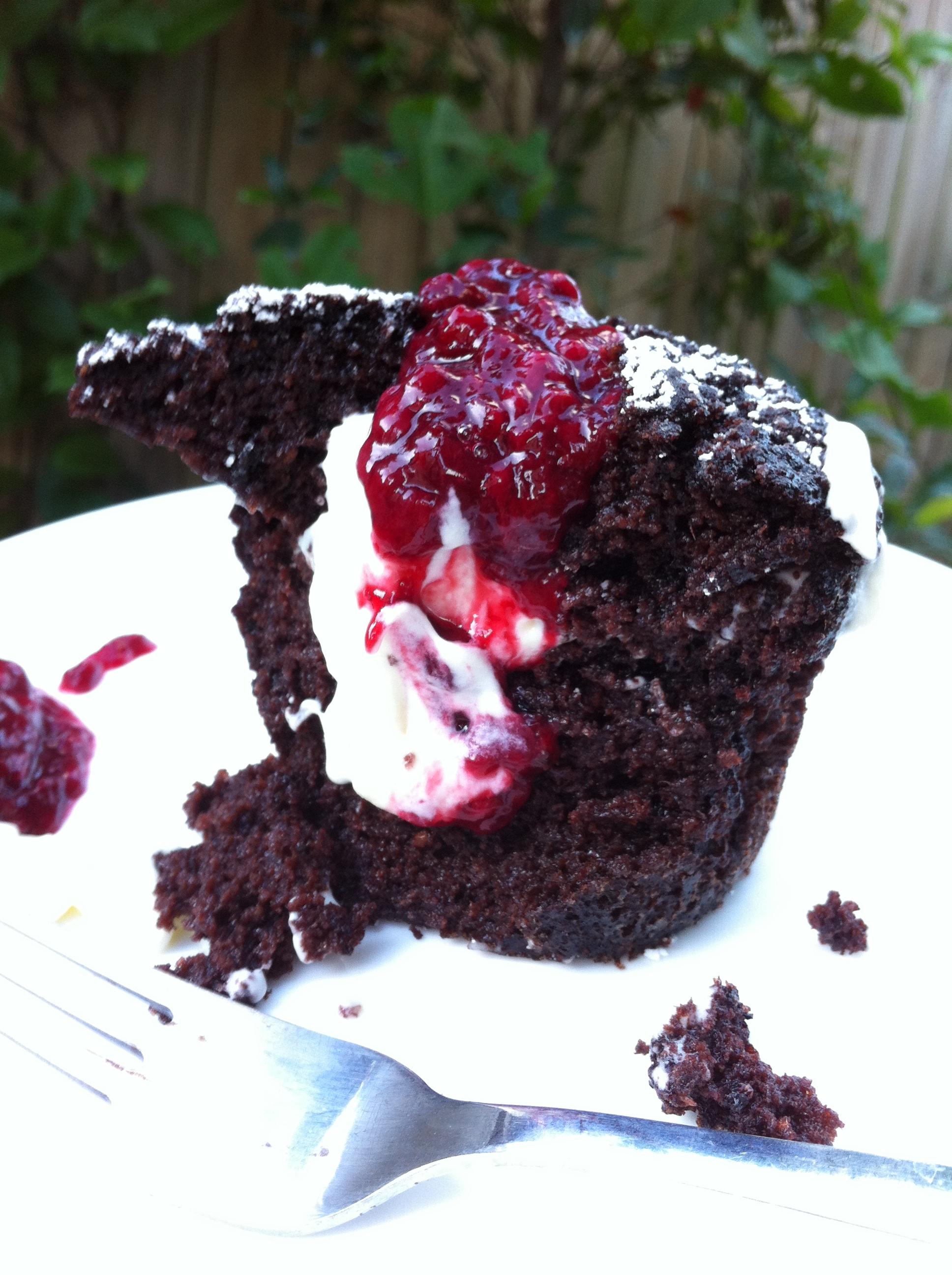 Zuchini In Chocolate Cake Mix