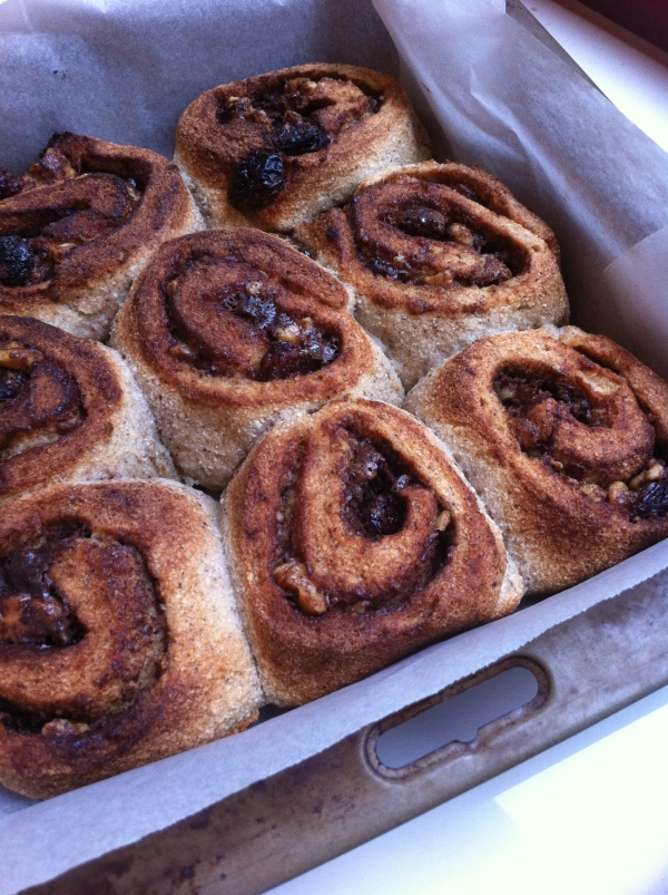 Grain free Cinnamon scrolls