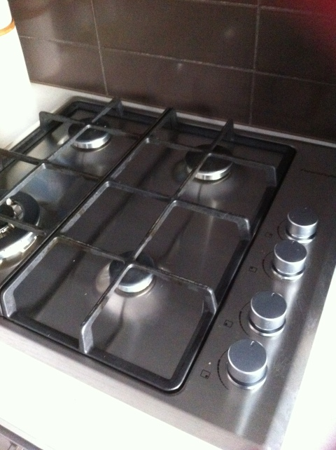 My new gas stovetop