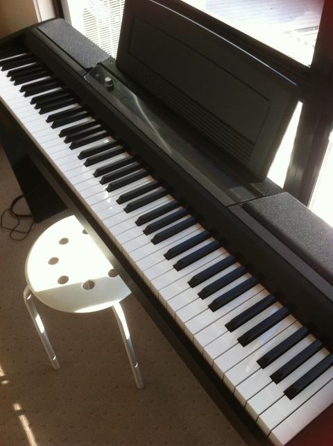 My new piano
