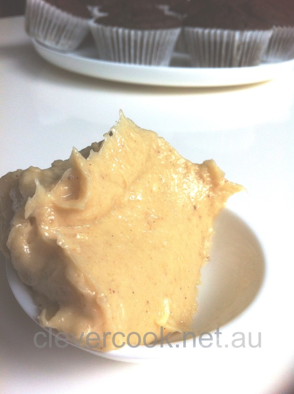 Yummy creamy banana butter