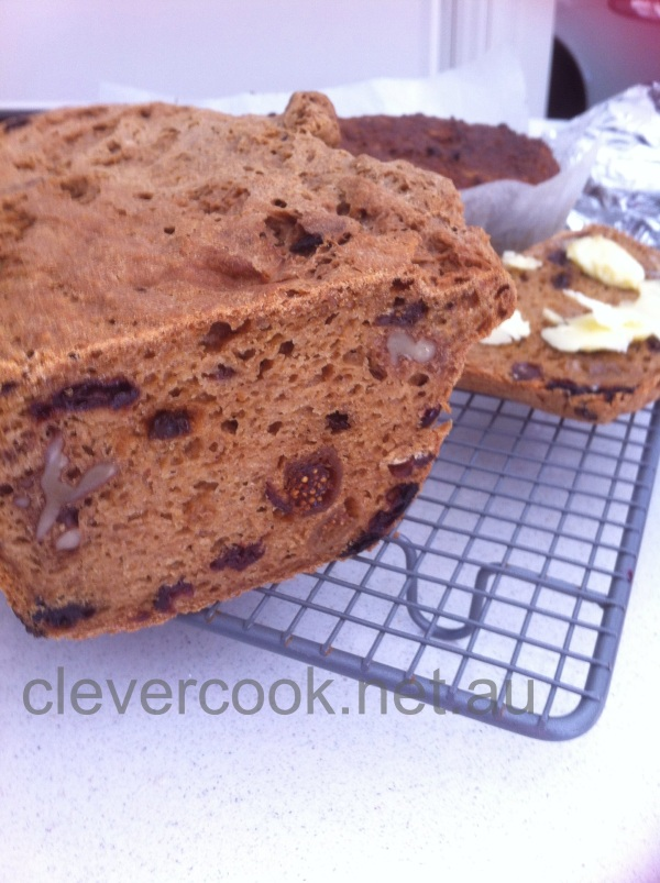 Fig & Date fruit bread with walnuts