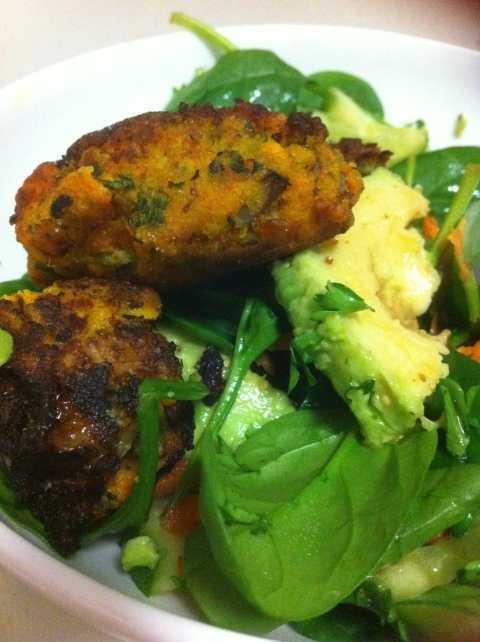 Kofta Salad