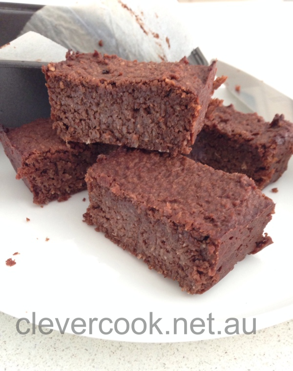 Chocolate brownie with a hidden secret!
