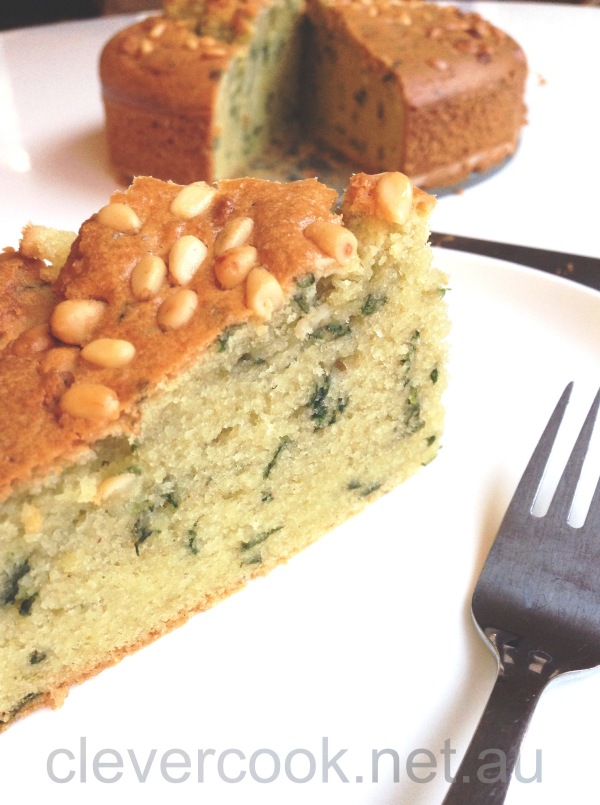 A delightful gluten free butter cake with a twist!