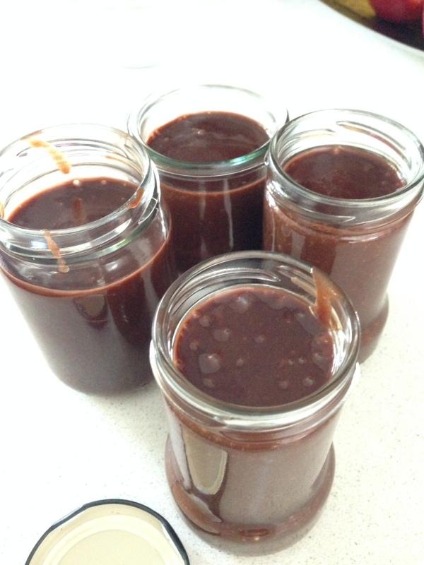 Sugar-free, nut-free, dairy-free chocolate sauce