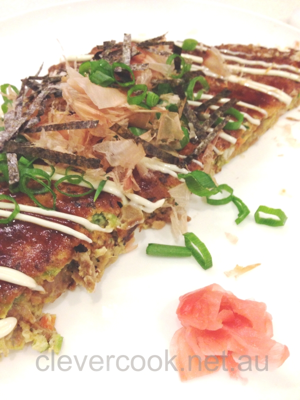 Todays version of Okonomiyaki