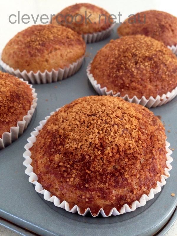 Grain-free, gluten-free, dairy-free and NUT-free cinnamon muffins