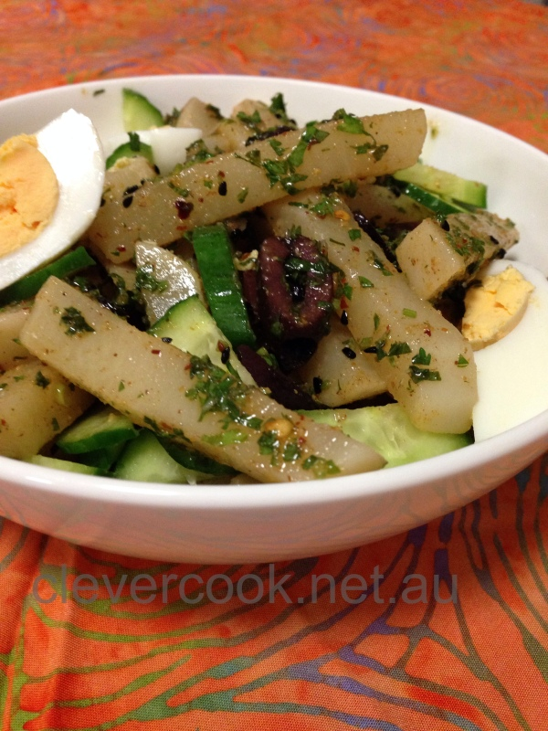 Tunisian Turnip Salad