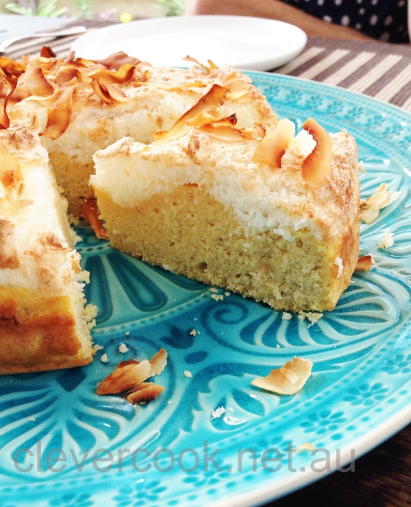 Coconut Frangipane Cake