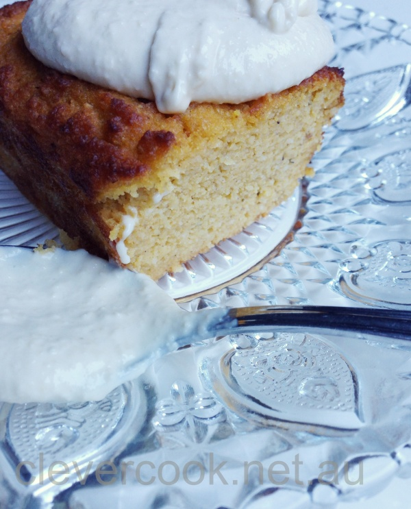 Nutmeg and honey pair beautifully with pumpkin in this slice