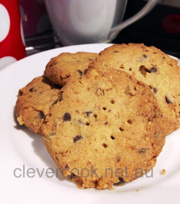 Walnut & Chocolate Chip Biscuits
