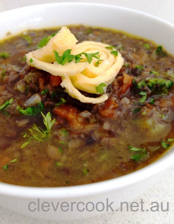 Mushroom & Kasha Soup