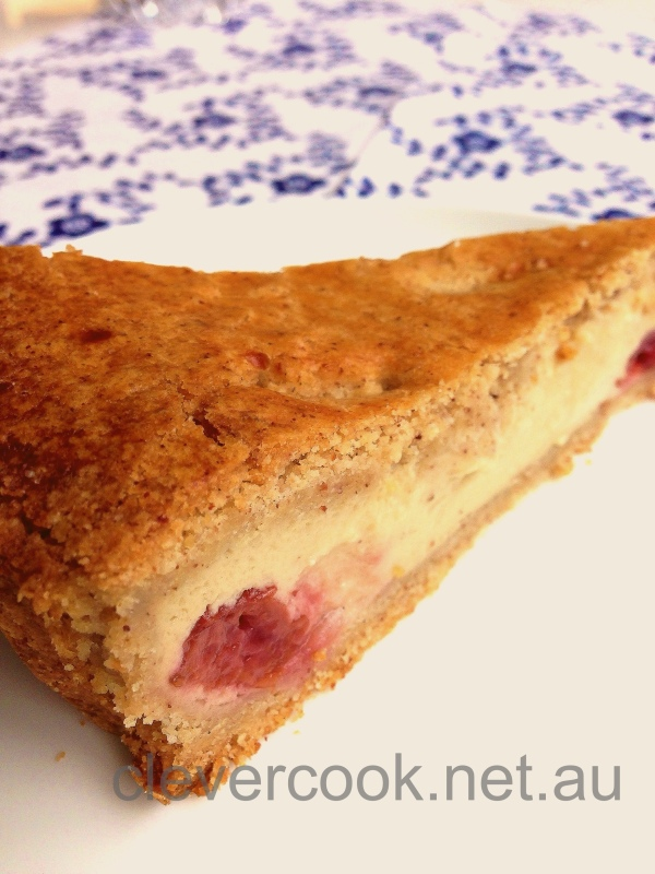Gluten-Free Dairy-Free Gateaux Basque (French Custard Tart)