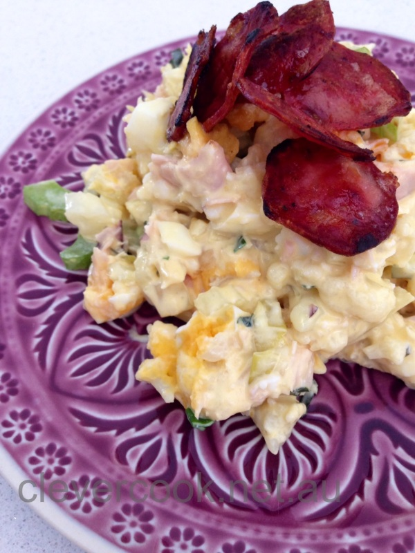 Creamy Cauli & Egg Salad