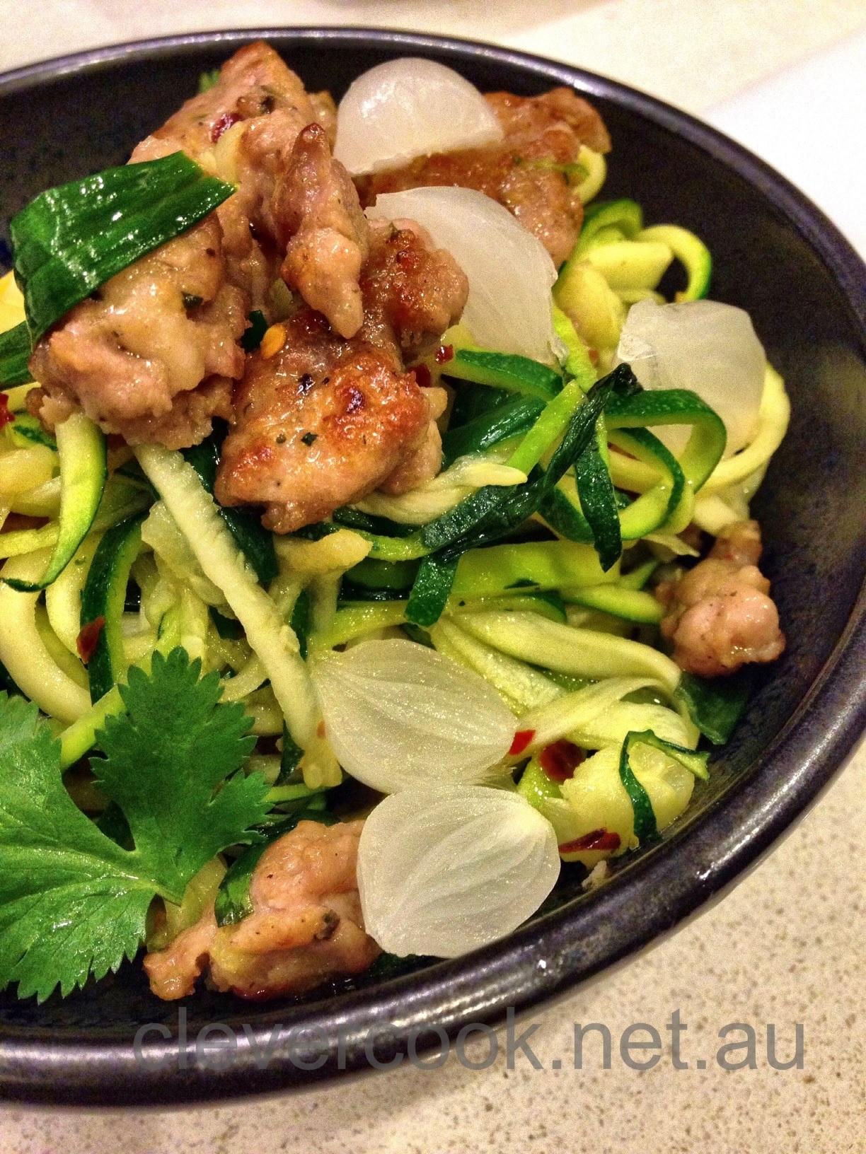 Pork Sausage Noodle Salad Clevercook