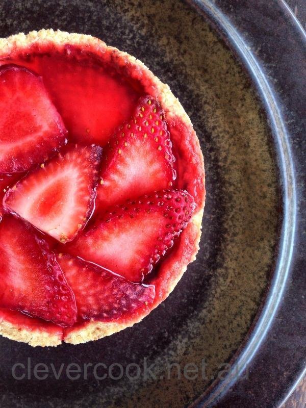Who loves a strawberry tart?