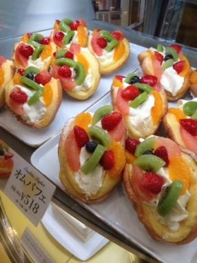 The creamy delights in Odori Bisse, Sapporo.